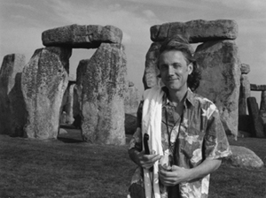 Richard Tarnas at Stonehenge.